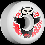 BONES WHEELS SPF Pro Miller Owl 56mm (4pack)