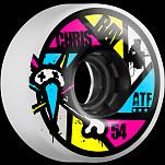 BONES WHEELS ATF Filmer Ray Aperture 54mm Wheel 4pk