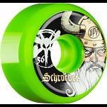 BONES WHEELS SPF Pro Schroeder Odin Green 56mm 4pk