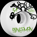 BONES WHEELS STF Pro Bingaman Mad Chavo 54mm 4pk