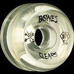 BONES WHEELS Clear SPF 56mm 4pk