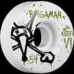 BONES WHEELS STF Pro Bingaman Team Vato Op 54mm Wheels 4pk