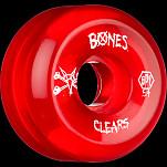 BONES WHEELS SPF Clear Red 54mm 4pk