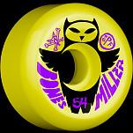 BONES WHEELS SPF Pro Miller Owl 54mm Yellow(4pack)