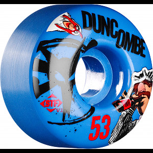BONES WHEELS STF Pro Duncombe Bork 53mm Blue 4pk