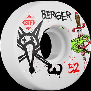 BONES WHEELS STF Pro Berger Snake 52mm 4pk
