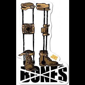 BONES WHEELS Homoki Retirement Sticker Single