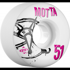 BONES WHEELS STF Pro Motta Numbers 51mm 4pk