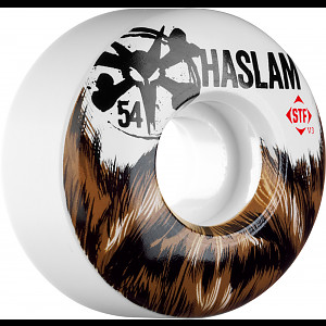 BONES WHEELS STF Pro Haslam Beard 54mm 4pk