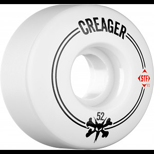 BONES WHEELS STF Pro Creager Stripes 52mm 4pk