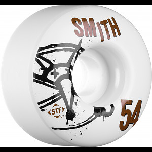 BONES WHEELS STF Pro Smith Numbers 54mm 4pk