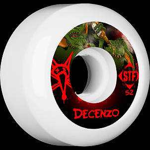 BONES WHEELS STF Pro Decenzo Yum Yum 52mm 4pk