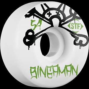 BONES WHEELS STF Pro Bingaman Mad Chavo 54mm 4pk