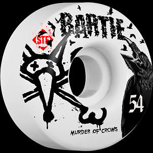 BONES WHEELS STF Pro Bartie Crow 54mm 4pk