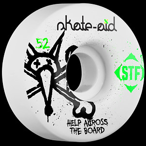 BONES WHEELS Skate Aid Collabo STF Wheel 52mm 4pk