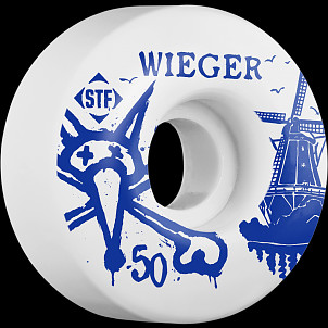 BONES WHEELS STF Pro Wieger Windmill 50mm Wheels 4pk