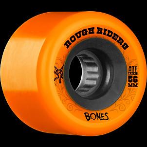 BONES WHEELS Rough Rider 56mm Orange Wheel 4pk