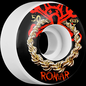 BONES WHEELS STF Pro Romar Chain 50mm Wheels 4pk