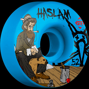 BONES WHEELS STF Pro Haslam Bohemian 52mm Blue Wheels 4pk
