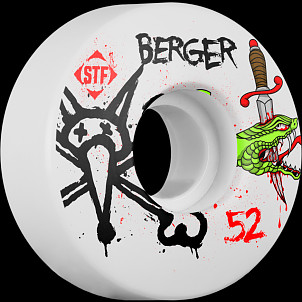 BONES WHEELS STF Pro Berger Snake 52mm 4pk