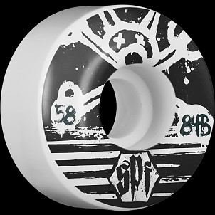 BONES WHEELS SPF Blackout 58mm (4pack)