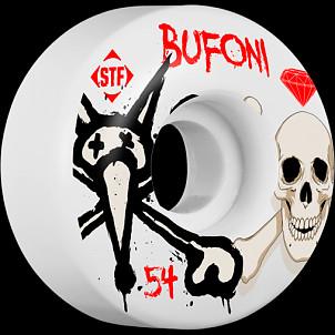 BONES WHEELS STF Pro Bufoni Crest 54mm Wheels 4pk