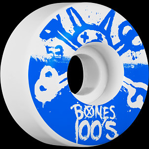 BONES WHEELS 100's 53mm 4pk