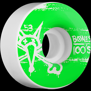 BONES WHEELS 100's 53mm (4pack)