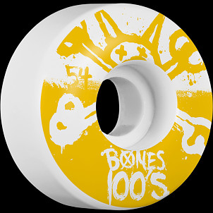 BONES WHEELS 100's 54mm 4pk