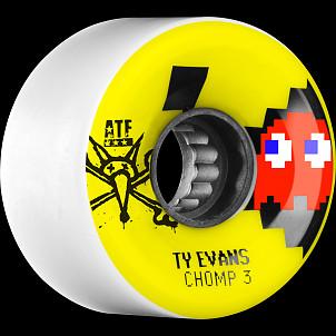 BONES WHEELS ATF Filmer Evans Chomped III 62mm Wheel 4pk