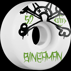 BONES WHEELS STF Pro Bingaman Mad Chavo 52mm 4pk