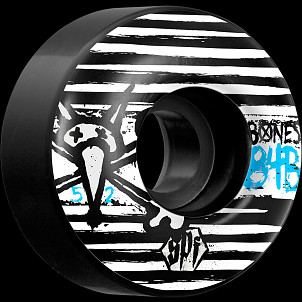 BONES WHEELS SPF Strokes 52mm Black (4pack)