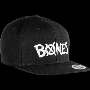BONES WHEELS Wool X Bones Snap Back Cap