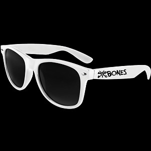 BONES WHEELS Vato Rat Sunglasses White