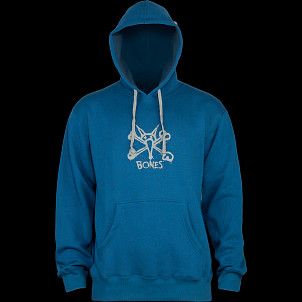 BONES WHEELS Vato Op Hooded Sweatshirt Blue