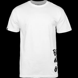 BONES WHEELS Hipper T-shirt White