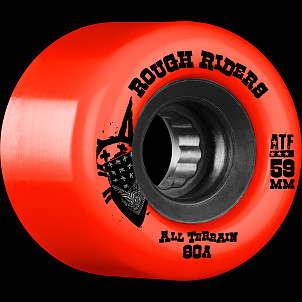 BONES WHEELS Rough Riders Red 59mm 4pk