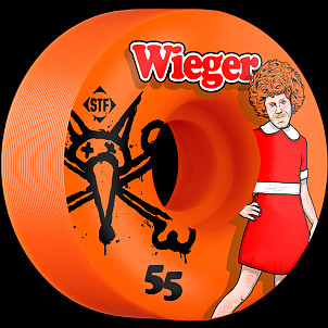BONES WHEELS STF Pro Wieger Annie 55mm Orange Wheel 4pk