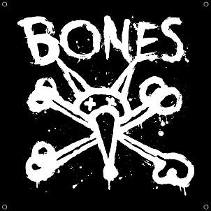 """BONES WHEELS Vato Op Banner - 36"""" x 36"""""""