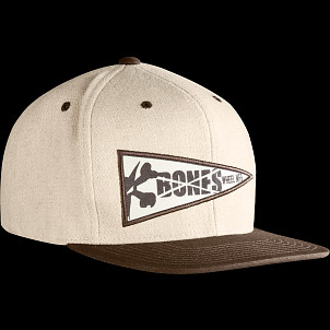 BONES WHEELS Wool Penant Cap