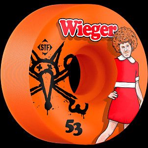 BONES WHEELS STF Pro Wieger Annie 53mm Orange Wheel 4pk