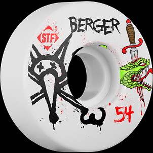 BONES WHEELS STF Pro Berger Snake 54mm 4pk