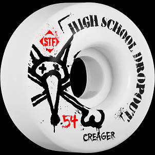 BONES WHEELS STF Pro Creager Drop Out 54mm 4pk