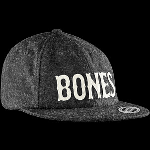 BONES WHEELS Cap Strapback Wooly Gray