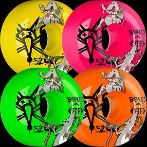 BONES WHEELS STF Party Pack III Asstd Wheel (4 pack)