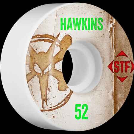 BONES WHEELS STF Pro Hawkins Team Vintage Wheel 52mm 4pk