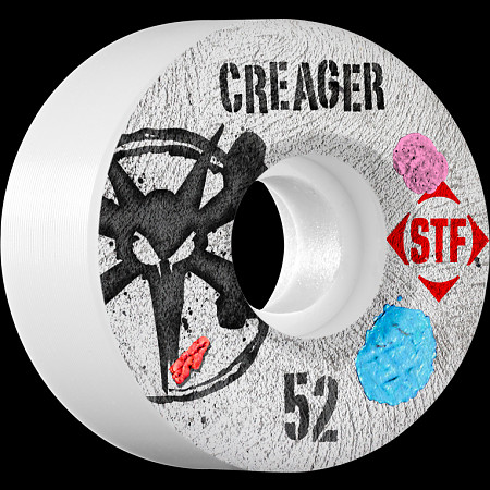 BONES WHEELS STF Pro Creager Bubblegum 52mm wheels 4pk