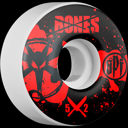 BONES WHEELS SPF Crime Scene 52mm wheels 4pk
