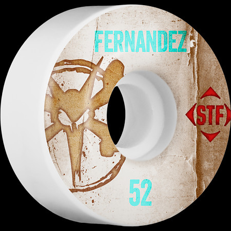 BONES WHEELS STF Pro Fernandez Team Vintage Wheel 52mm 4pk