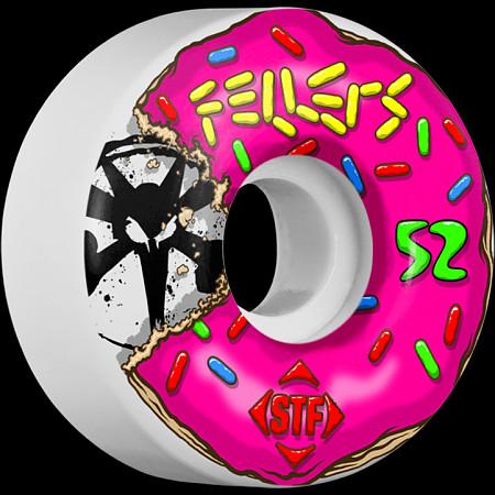 BONES WHEELS STF Pro Fellers Sprinkles 52mm wheels 4pk